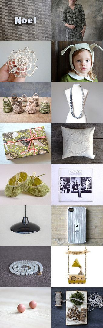 Noel by Firulì Firulà on Etsy--Pinned with TreasuryPin.com