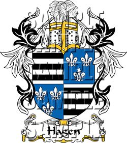 Hagen Family Crest apparel, Hagen Coat of Arms gifts