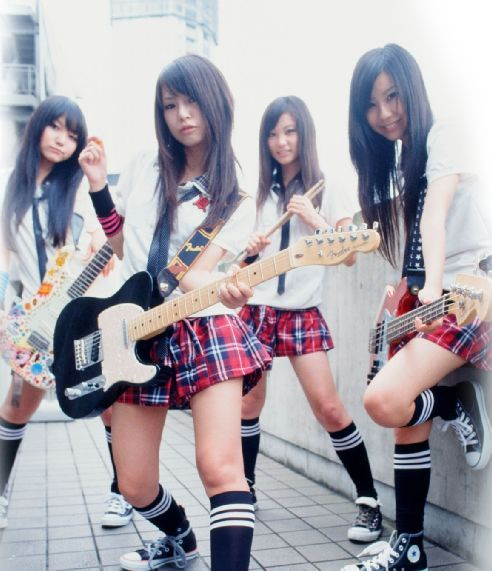 scandal band japan!