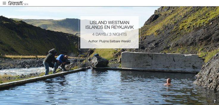 IJSLAND WESTMAN ISLANDS EN REYKJAVIK by Pluijm's Eetbare Wereld.  http://www.peecho.com/print/en/68965