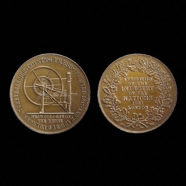 uhlhorn press ad token 1851 london