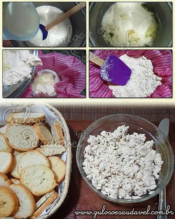 O que mais me surpreendeu na receita de ricota caseira light é muito saborosa, simples de preparar, com poucos ingredientes é ótima é só colocar no pão ...