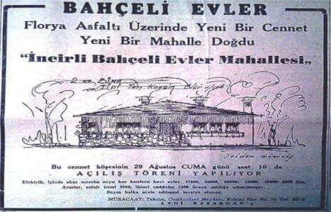 """1960'larda yeni bir mahalle: """"Bahçeli Evler"""" Açılış Töreni #birzamanlar #istanbul #istanlook"""