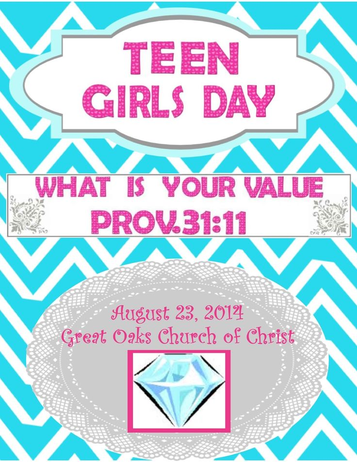 Teen Tuesday: Teen Girls Day Part 1