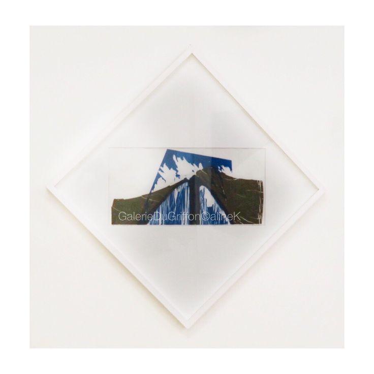 ➕MARIA BONOMI SAUVONS LES BALEINES, 1986 Bois de fil & bois de bout, 20 x 49,5 cm Xylogravure | Xylographie Signée & annotée P|E