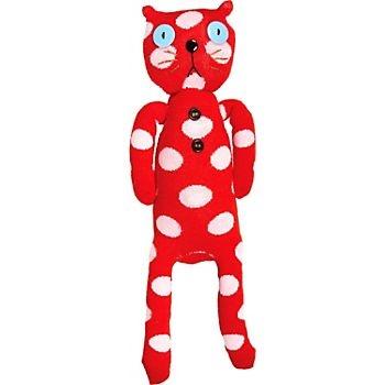 Polka Dot Sock Cat