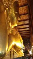 Thailand, Bangkok, Wat Pho, liegender Buddha
