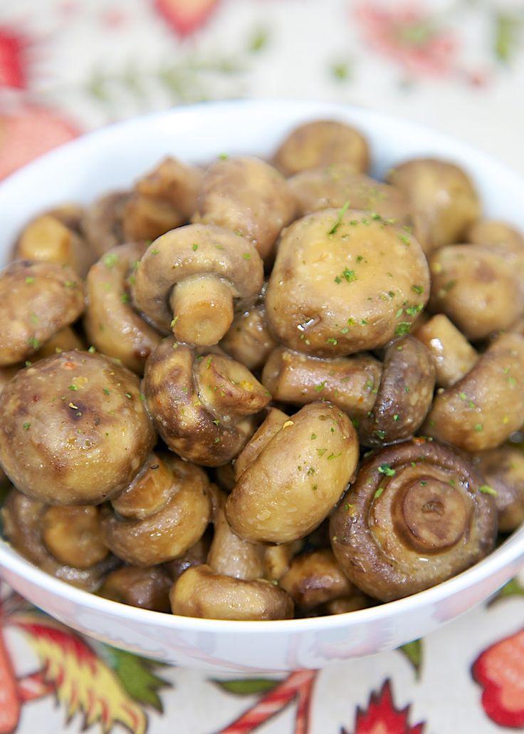 Slow Cooker Italian Ranch Mushrooms