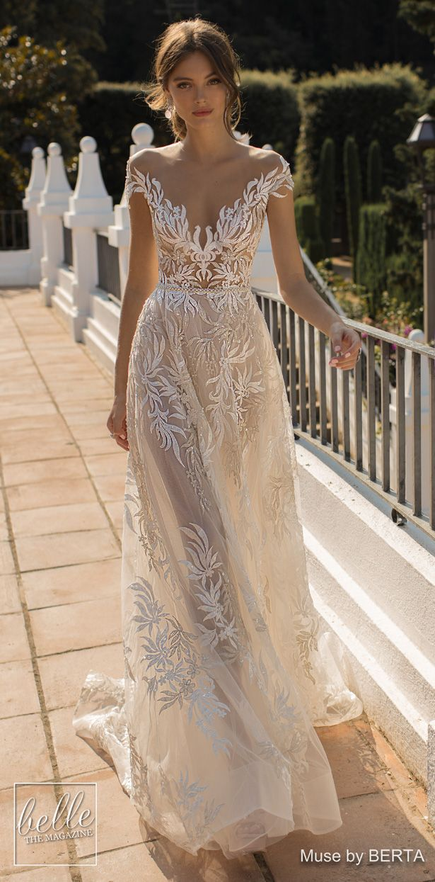 MUSE by BERTA Wedding Dresses 2019 – Barcelona Bridal Collection – Kleider