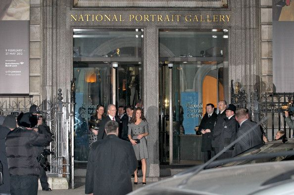 Kate Middleton Photo - Kate Middleton Leaves The Lucian Freud Portraits Private Viewing