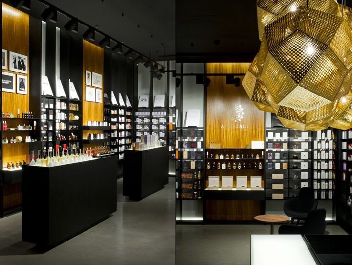 Perfumeshop With Images Retail Interior Design Retail Design