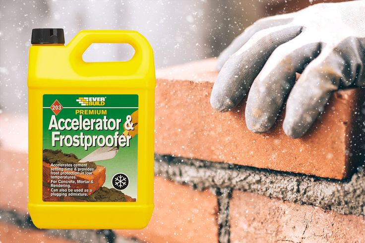 Accelerator & Frostproofer is a liquid additive formulated to accelerate setting and hardening times of mortar, concretes, screeds and rendering to provide frost protection during the setting period. Effective even in sub-zero temperatures and can also be used in normal temperatures where a rapid set is required and as a plugging admixture. http://www.allbuildproducts.com/shoponline/#!/Accelerator-&-Frostproofer/p/71932836/category=25400403 #frost #cold #winer #accelerator #bricklaying…