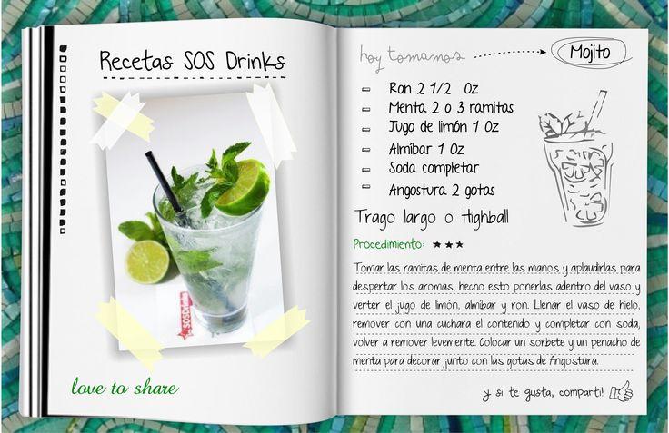 Mojito by SosDrinks #Drinks #Mojito #Events #Wedding