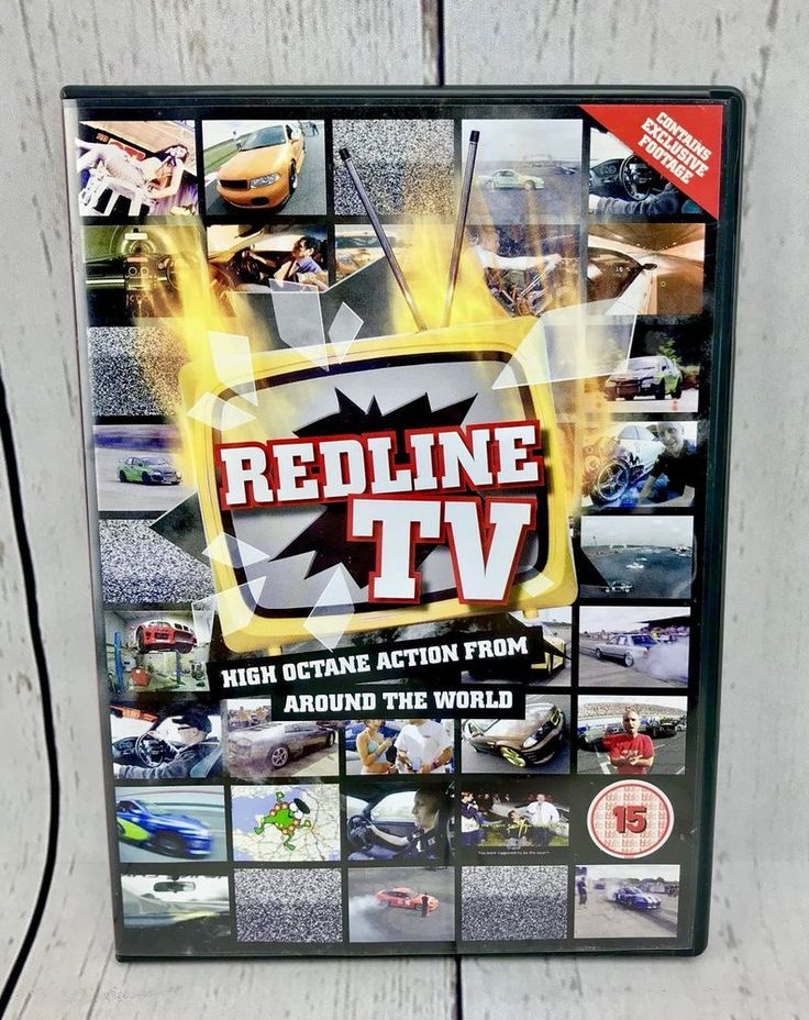 REDLINE TV DVD High Octane Action From Around The World Donut Record Gti cars