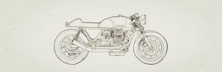 #kaffemaschine #motorcycle #8negro #caferacerdraw - 8negro