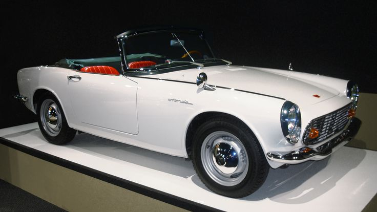 Japan Classic Car Gallery: Honda S600 - The first honda sport car