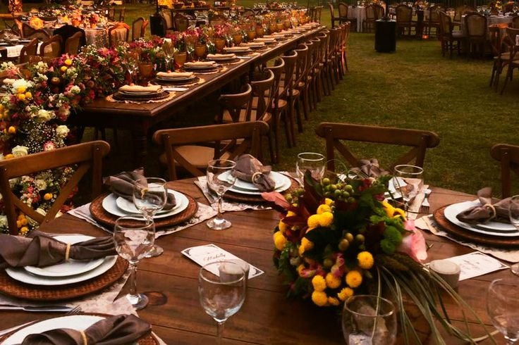 Tudo sobre como decorar seu casamento no país   – Dicas casamento