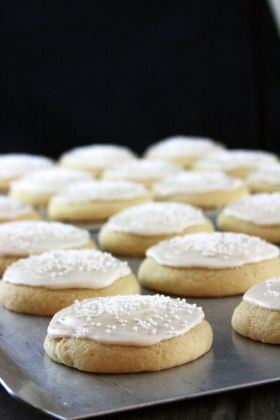 Stay Soft Vanilla Sugar Cookies -