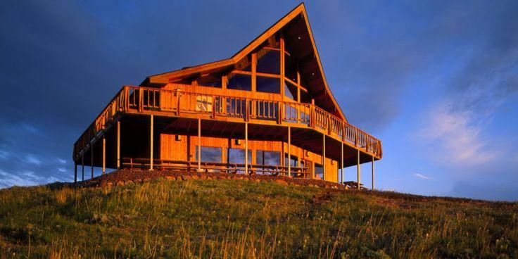 26 best incredible homes images on pinterest lindal for Lindal log cabin homes