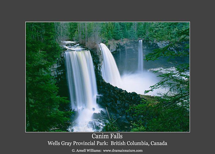 Canim Falls, Wells Gray Provincial Park, Canada