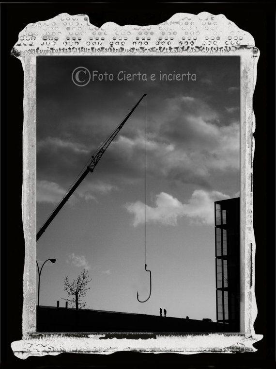 La pesca Fine art photography street art por FotoCiertaeIncierta