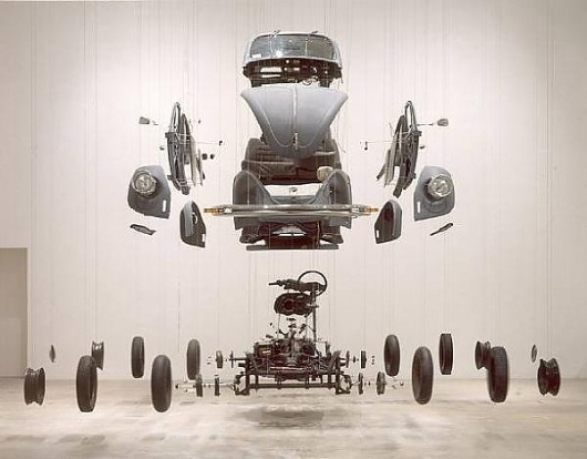 Damian Ortega « Is it nice..?: Cosmic Things, Sculpture, Contemporary Artists, Damianortega, Vw Beetles, Vw Bugs, Volkswagen Beetles, Damian Ortega