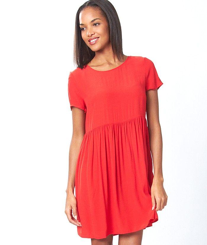 robe vas e boutonn e dos bonbon rouge etam shopping pinterest bonbon et rouge. Black Bedroom Furniture Sets. Home Design Ideas