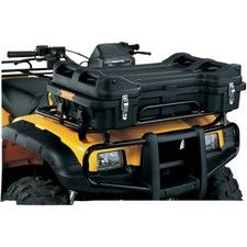 MOOSE PROSPECTOR FRONT BOX Made from easy-to-clean, high-impact-resistant polyethyleneUV stabilizedLocking latchesSide reflectorsQuick-release tie-downsU-bolts for permanent mountingFoam hand gripsVersatile top storage area33