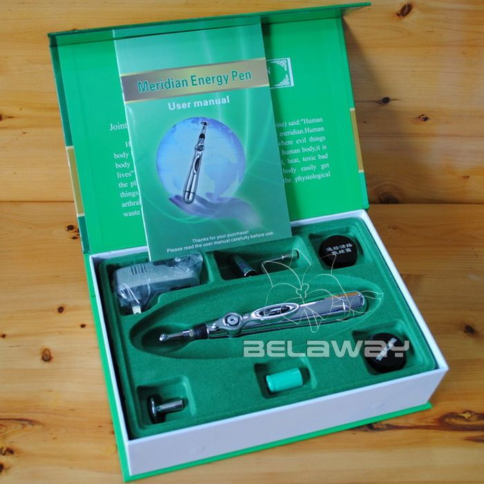 New Meridian Energy Pen Acupuncture Meridian Therapy Instrument
