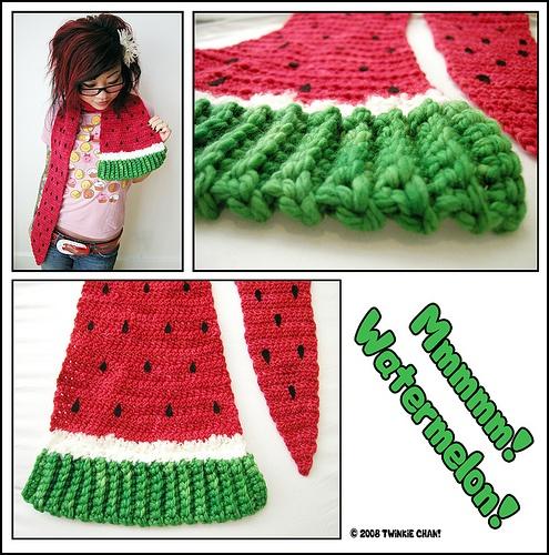 watermelon scarf