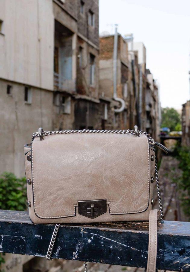 1e616a95fb Τσάντα με αλυσίδα και τρουκ ACCESSORIES