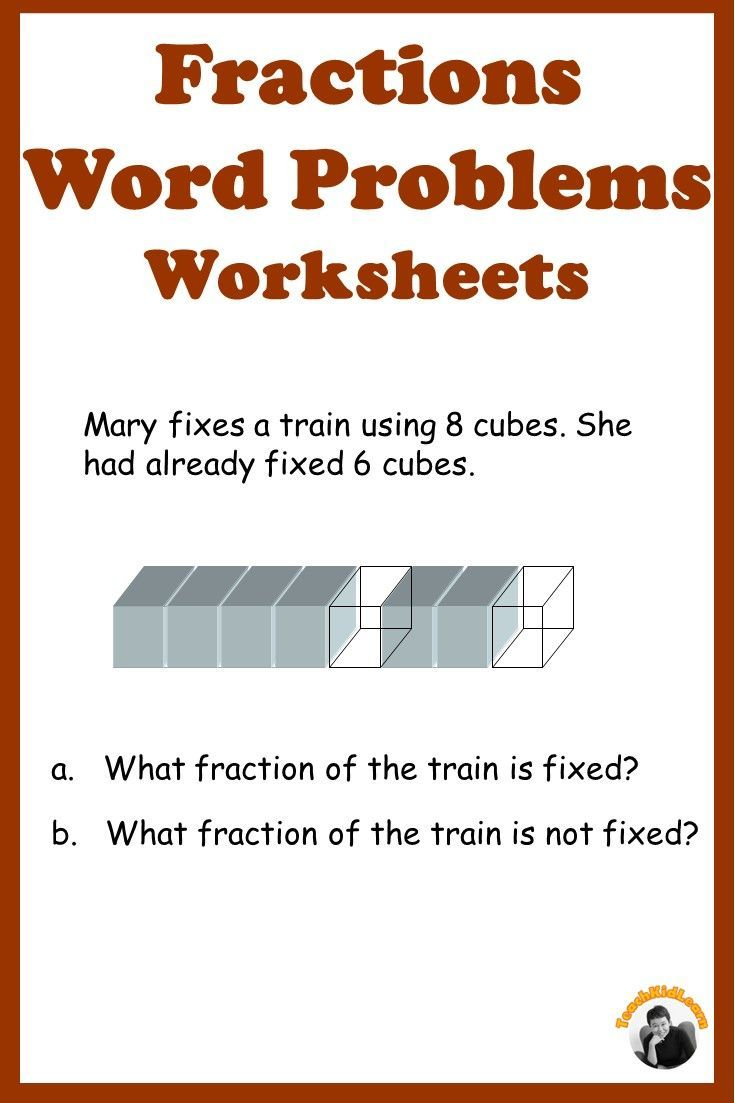 small resolution of Fractions Word Problems Grade 3-5 Distance Learning   Fraction word problems