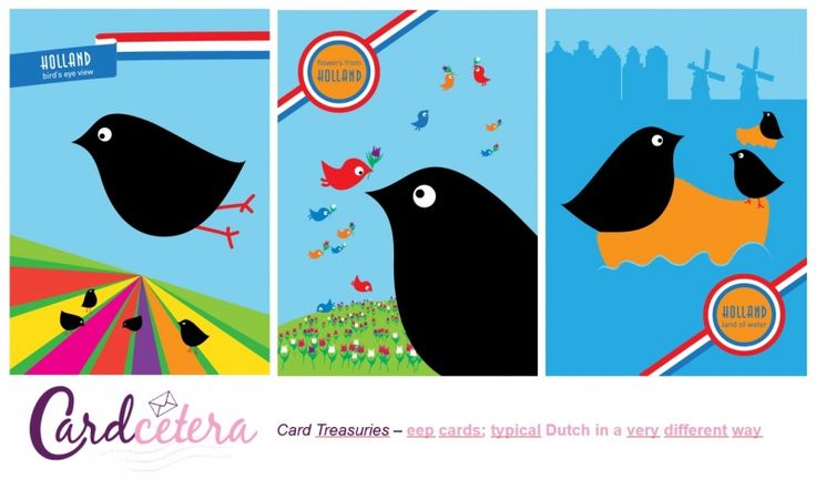Eep cards - a very original way to say 'Greetings from The Netherlands!'