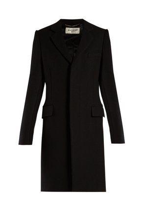 f596d10a434 Single-breasted wool coat | Saint Laurent | MATCHESFASHION.COM ...