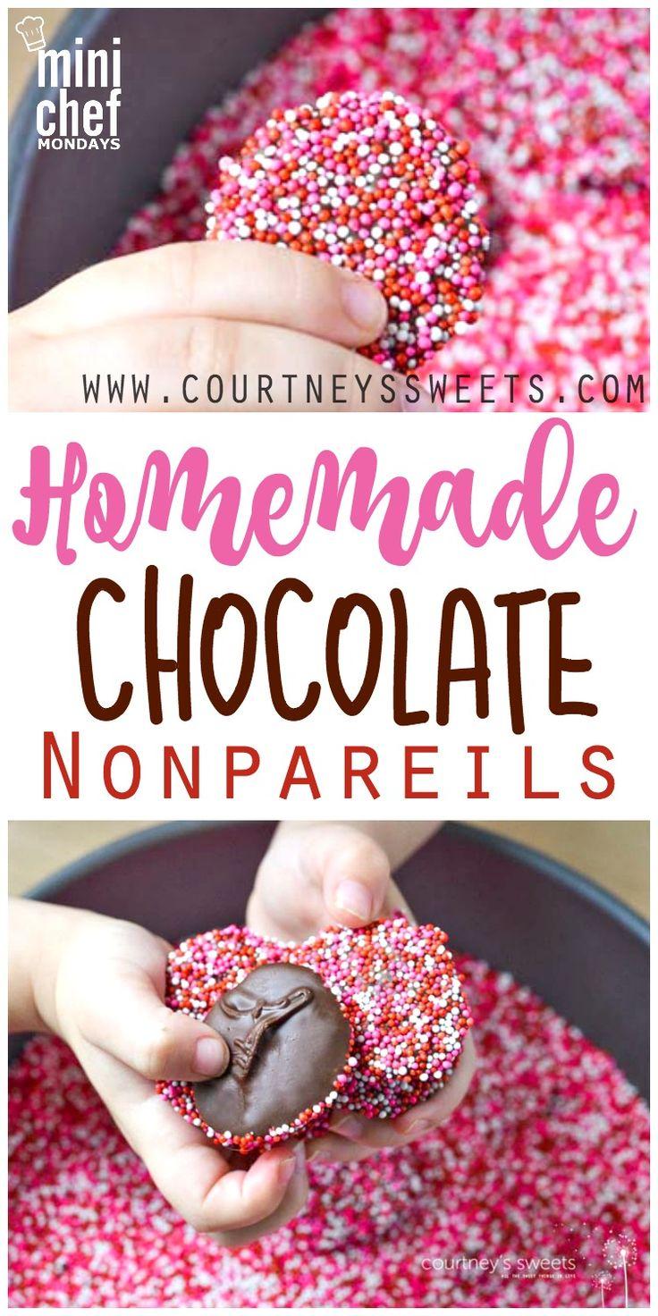 Homemade Chocolate Nonpareils | Recipe | Mini Chef Mondays ...