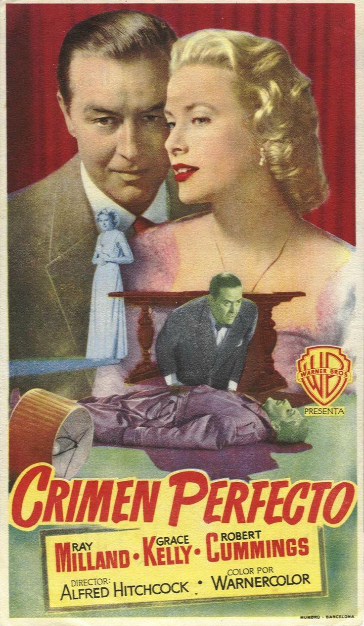 1954 - Crimen perfecto - Dial M for Murder - tt0046912-001-9044 - Español                                                                                                                                                                                 Más