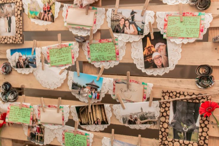 Message board wooden pallet