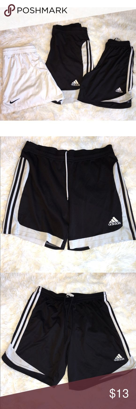 Soccer Shorts GUC / large / men's or women's Adidas Shorts Athletic