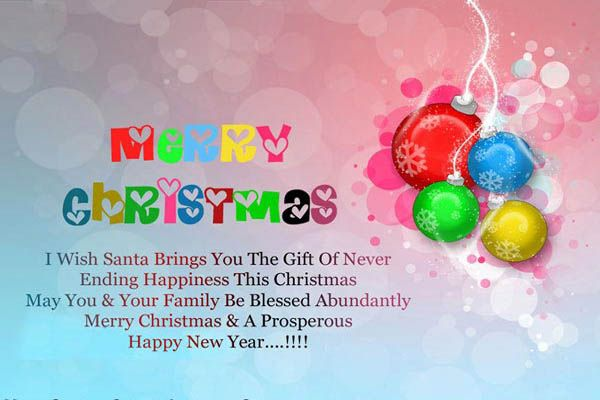 Advance Merry Christmas Wishes Messages