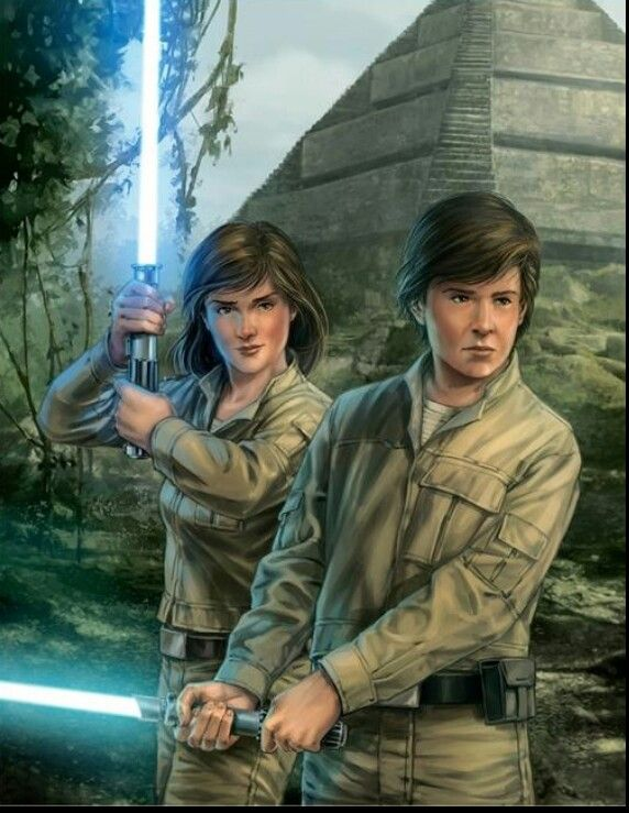 Jaina): Jacen and I used to train at the Jedi Academy of Yavin IV. I always find myself feeling nostalgic for these times, but lately I have been having the most terrible nightmares. They have nothing to do with destiny, and everything to do with the Force.