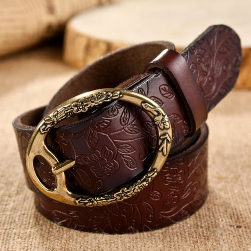 Free shipping/new 2014/belt/belts for women/genuine leather belt/pu/050/female belts/brand belt/fashion strap/metal pin buckle US $16.98