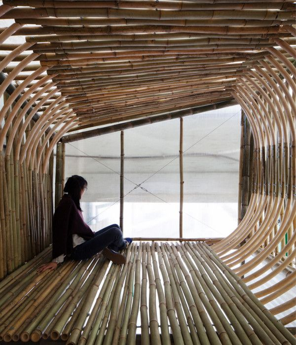 Bamboo Micro-Housing Transitional Residence by Dylan Baker-Rice