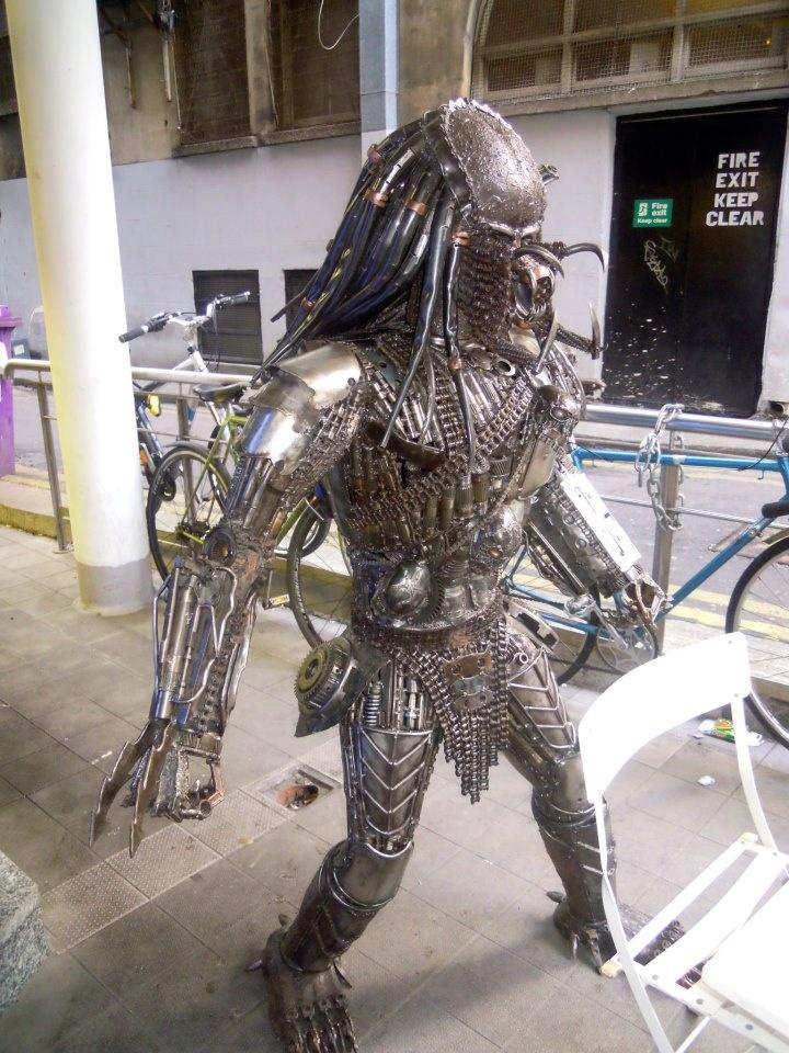 Predator Welded Sculpture Welding Welding Art