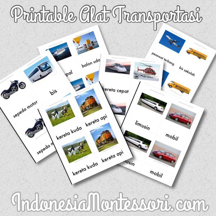 Mengenalkan Berbagai Alat Transportasi
