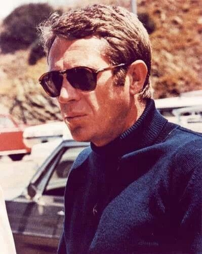 Steve McQueen (Terence Steven McQueen  Born March 24, 1930 Died Nov. 7,1980 from cancer at age 50.