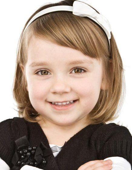 The Simple Hairstyle-Short Hairstyles for Little Girls
