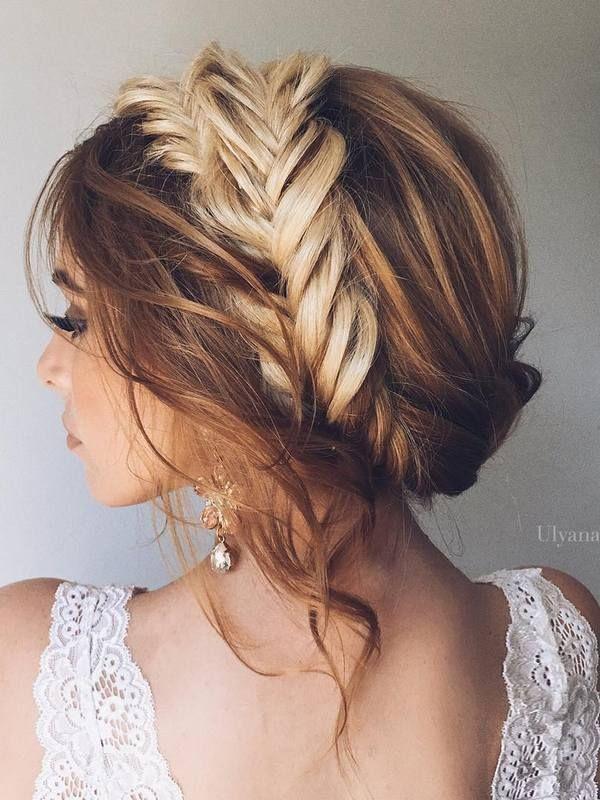 Ulyana Aster Long Wedding Hairstyles & Wedding Updos / http://www.deerpearlflowers.com/romantic-bridal-wedding-hairstyles/4/