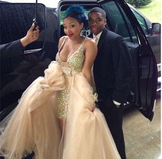 PROM FASHION TI And Tinys Daughter Zonnique Goes To Prom