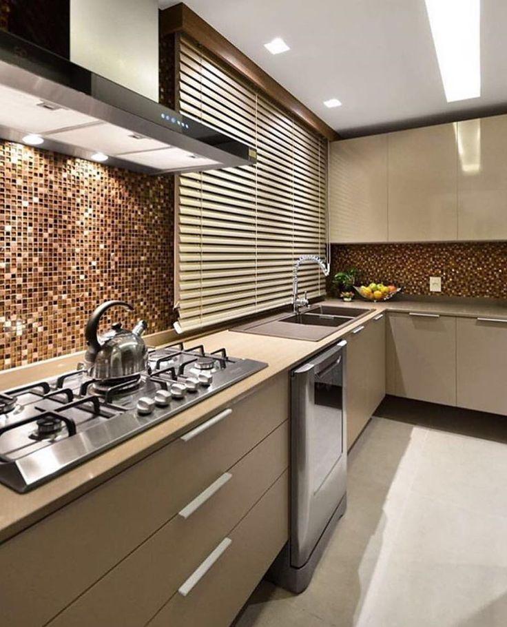 """2,765 Likes, 20 Comments - Inspiração e decoração (@inspiracaoedecoracao) on Instagram: """"Inspiração para cozinha  #inspiracaododia #love #details #detalhes #follow #inspira #ideias…"""""""