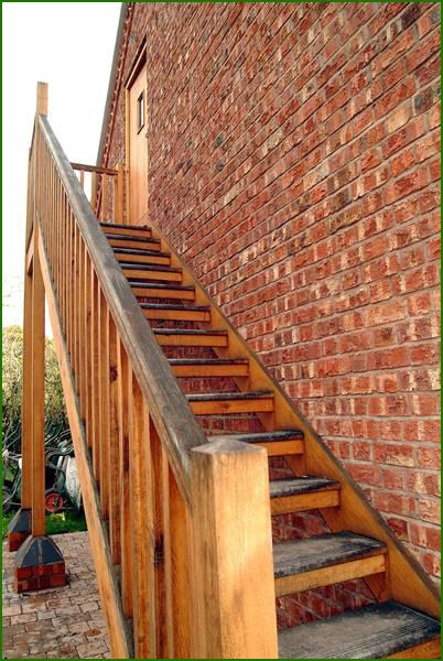 External Oak Staircase